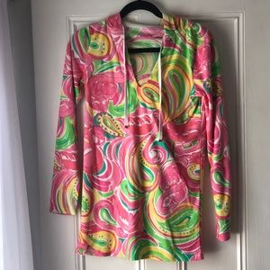 "Lilly Pulitzer ""All Nighter"" beach tunic"